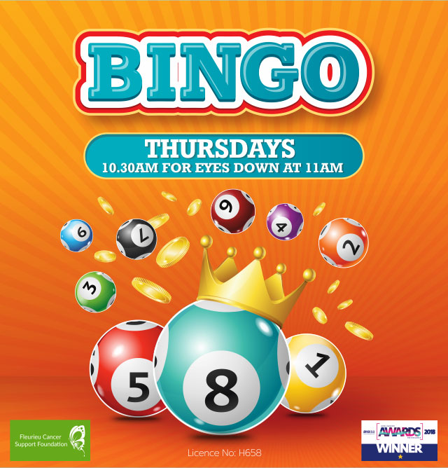 Bingo at the Hotel Crown Victor Harbor Thursday
