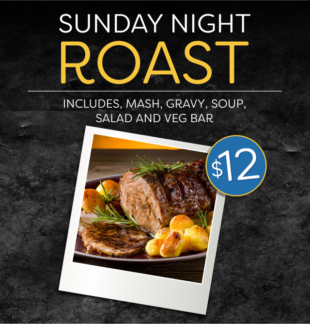 Sunday Night Roast at the Hotel Crown