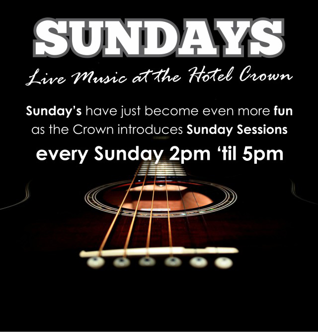 Live Music Every Sunday at the Hotel Crown